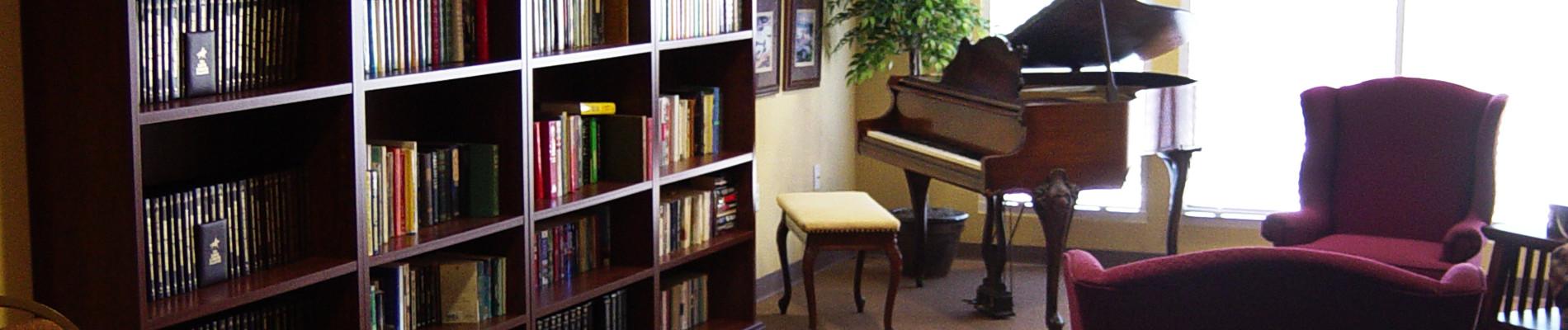 Library at Wildomar Senior Leisure Community in Temecula CA